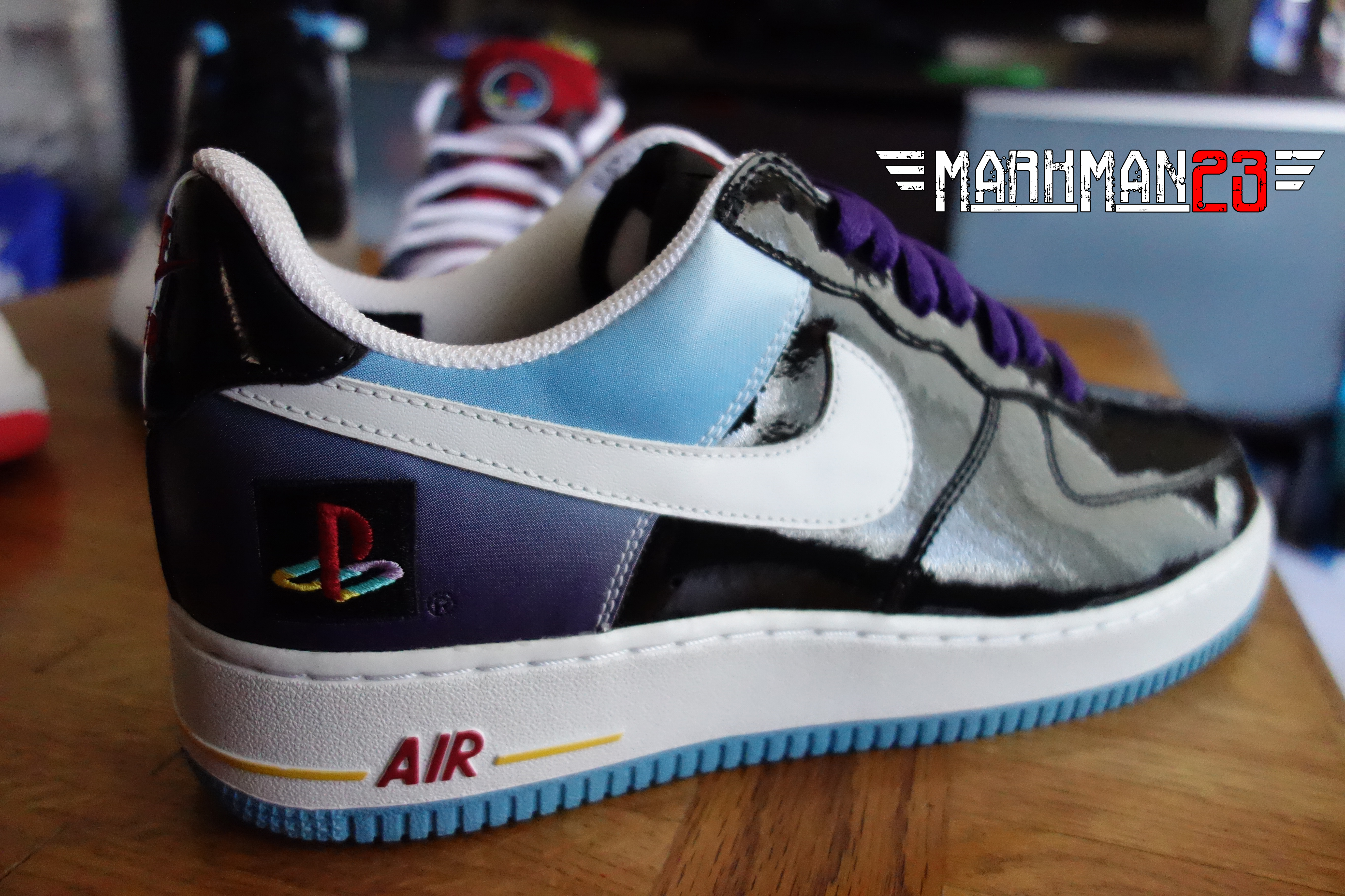 nike air force playstation