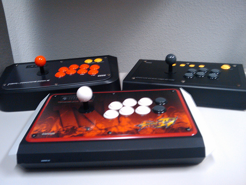 FIGHTSTICKS